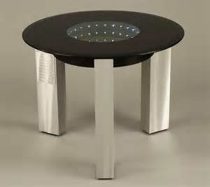 Modern End Tables Modern Black Glass End Table Nl143 Contemporary