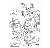 Volvo S60 Fuel Tank And Connecting Parts 2WD