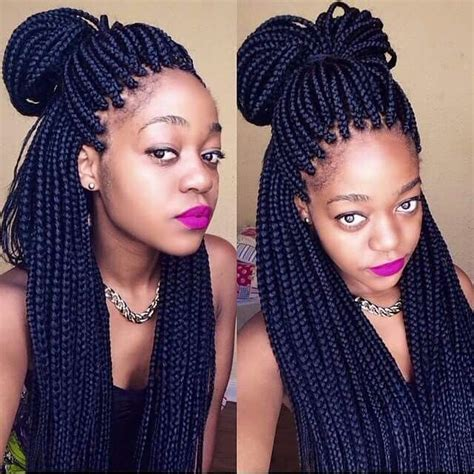 hairstyles for block braids 1000 ideas about box braid styles on pinterest box