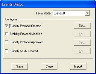 stability protocol template 8 2 stability events