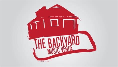 backyard logo the backyard logo on behance