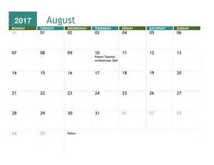 Calnedar Template by Academic Calendar Any Year Office Templates