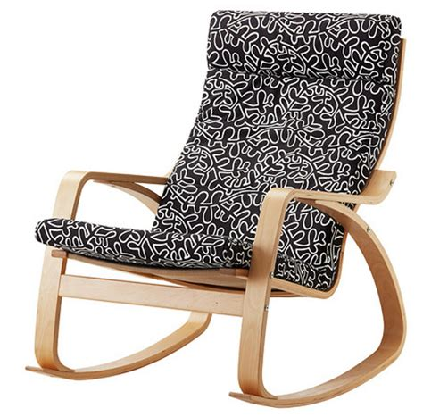 armchair breastfeeding ikea poang rocking chair nursery nazarm com