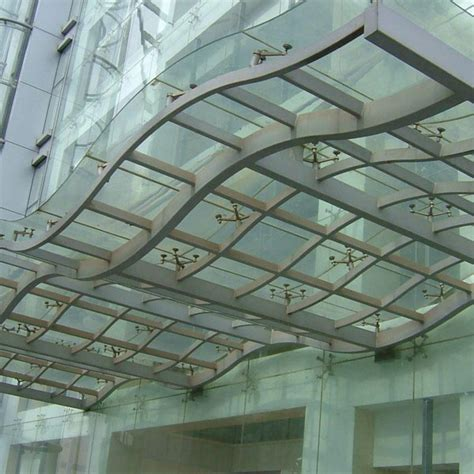 Tempered Glass Rumah kanopi kaca tempered pagar kanopi rumah minimalis 0812