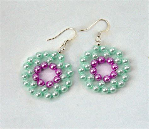 free patterns for beaded earrings free pattern for earrings mermaid magic bloglovin