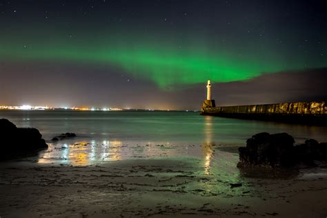 Pictures And Video North East Photographers Capture Lights In