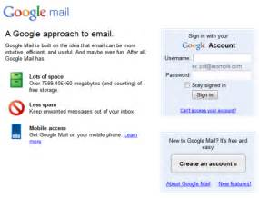 The easiest way to sign in to google mail is to head over to the page