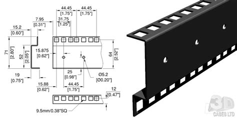 Rack Mount Dimensions by 19 Quot Rack Specifications