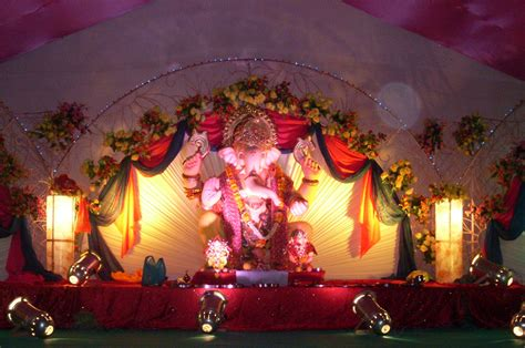 home decoration for ganesh festival ganesh festival 2017 mumbai decoration ideas at home
