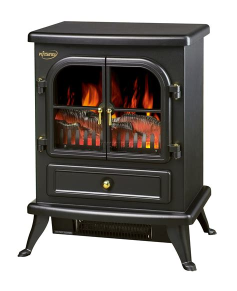 log burning effect 1850w electric heater