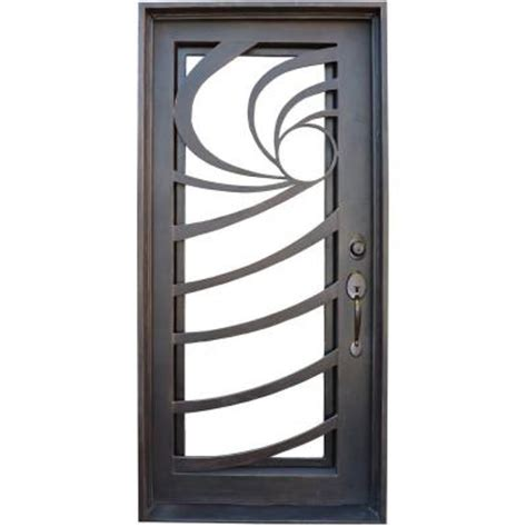 trento 36 in x 78 in contemporary lite bronze