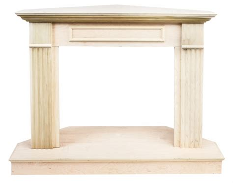 Unfinished Wood Fireplace Mantels by Vantage Hearth 26 Inch Traditional Unfinished Wooden