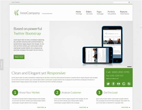 theme list drupal 7 27 awesome drupal themes web graphic design bashooka