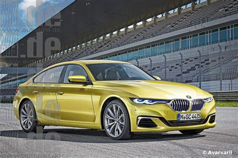 bmw  series gran coupe rendering