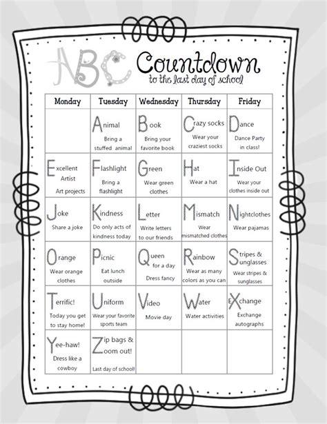 how to make a countdown calendar for make a countdown calendar printable teacheng us