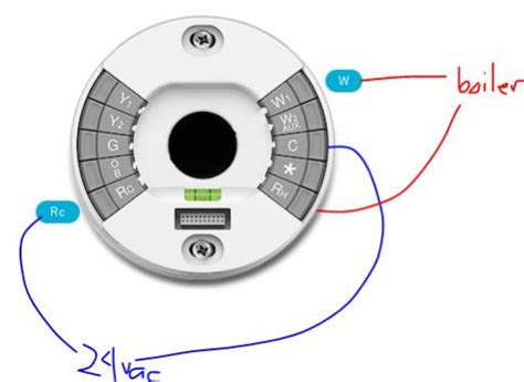 nest thermostat for heat wiring diagram nest