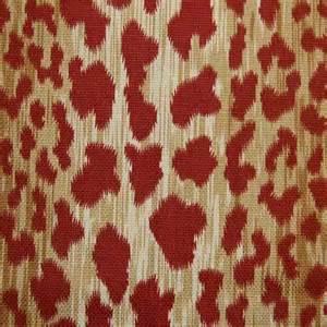 leopard print fabric leopard print fabric red