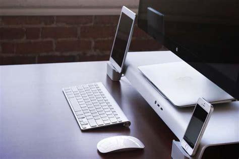 imac desk stand iforte uniti stand desk organizer for imac and apple
