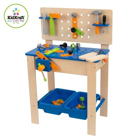 kidkraft deluxe workbench with tools 63329