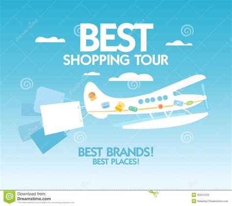 tour design template best shopping tour design template stock photos image