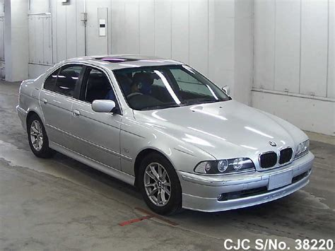 2002 bmw 5 series silver for sale stock no 38220 japanese used cars exporter