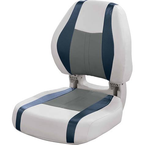 pontoon boat seat patterns wise talon pontoon high back bucket seat walmart