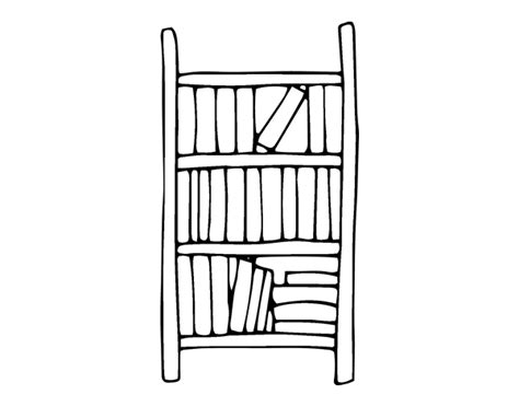 coloring pages bookshelves bible bookcase coloring coloring pages
