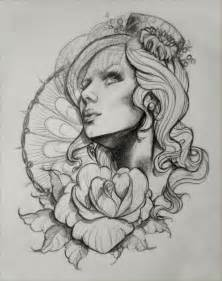 And bird tattoos drawing endless clock and roses tattoos sketch