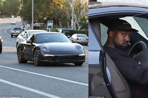 kanye west acquires new porsche 911 photos car talk