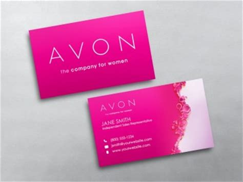 Avon Business Cards Free Shipping Avon Business Card Template
