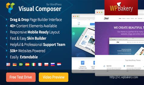 visual composer tags wordpress plugins best 10 wordpress page builder plugins wp template
