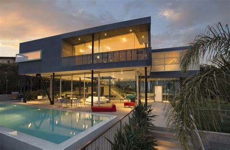 home design 1300 palisades center drive imposing glass steel and concrete residence in pacific