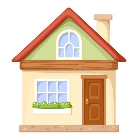 casa clipart house vector illustration stock vector