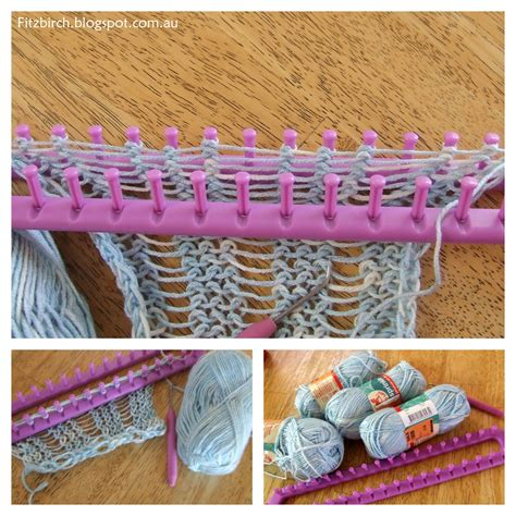 how to loom knit a scarf on loom yarn loom crafts