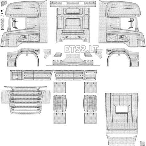 Topline Report Template Templates Scania R2008 50k V2 1 Ets 2 Mods