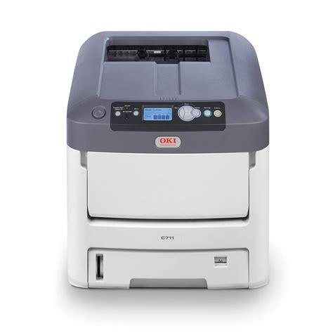 Toner Printer Laser oki c711wt white toner laser printer
