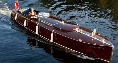 best wood for boats handmade in canadian wood the boats of muskoka classic