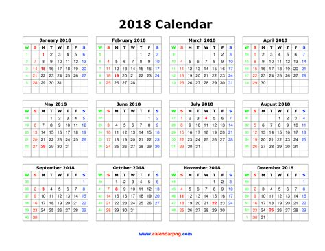 Calendar 2018 Png September Calendar Png Hd Transparent September Calendar