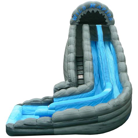 backyard blow up water slides image gallery inflatable water slides