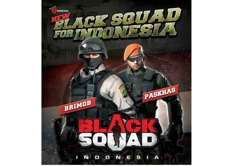 black squad indonesia januari 2016 black squad indonesia kedatangan brimob dan
