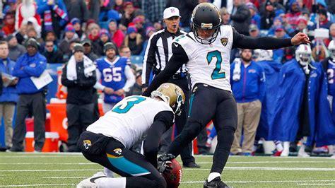 jaguars kicker jaguars waive kicker jason myers after two misses sign