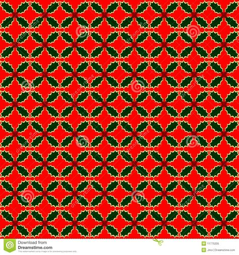 web repeat pattern variegated holly repeat pattern stock vector