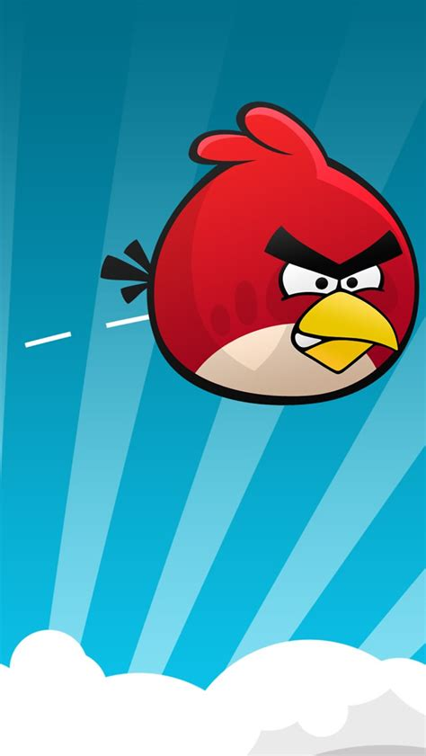 Wallborder Motif Angry Bird 10 amazing angry birds wallpapers for iphone 5