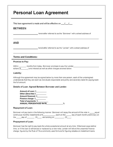 Back Charge Form Template Images Template Design Ideas Loan Shark Agreement Template
