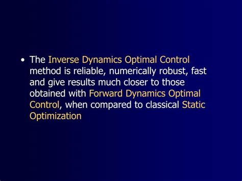 optimal and robust estimation with an introduction to stochastic theory second edition automation and engineering books ppt the inverse dynamics optimal method to