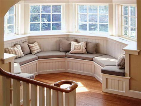 How To Decorate A Bow Window window seats with storage that will mesmerize you homesfeed