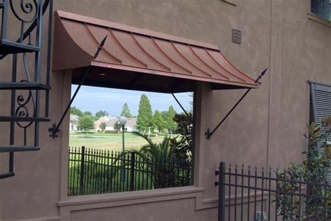copper window awning the romeo gallery copper awnings projects gallery of awnings