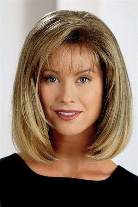 Shoulder length haircuts with fringe 2018 haircuts models ideas