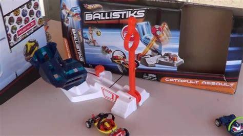 Hotwheels Catapult Orange Wheels Ballistiks Catapult Assault Review