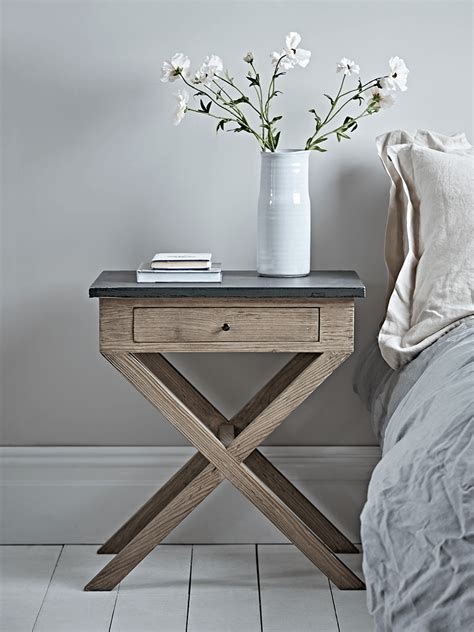 cross leg bedside table distressed cross leg bedside table furniture deals